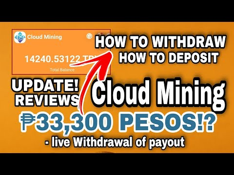 Kumita ng ₱33,300 or 11100 TRX?! Cloud Mining UPDATE! How To Withdraw & Deposit! Own Proof Of Payout