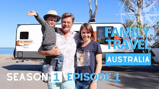THE JOURNEY BEGINS, FULL TIME CARAVAN LIVING HERE WE COME!  | Family Travel Australia Series EP 1