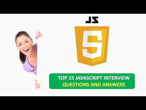 TOP 15 JAVASCRIPT QUICK INTERVIEW QUESTIONS AND ANSWERS