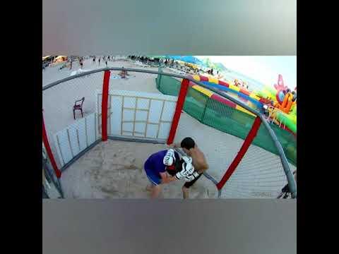 видео: Бой в клетке. Жека против мастера спорта по Таэквондо.