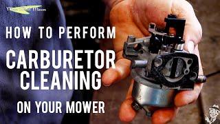 How to Clean Mower Carburetor - MainStreetMower