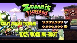 Cheat Zombie Tsunami 100% Work (No Root) + Download