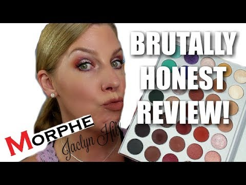JACLYN HILL X MORPHE PALETTE | My BRUTALLY honest review! thumbnail