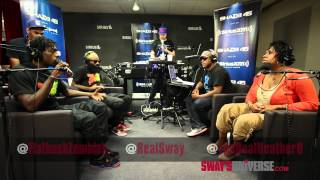 Flatbush Zombies Speak on Taking Acid on #SwayInTheMorning