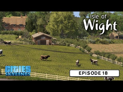 Guest Builder - Pres - British Countryside - Cities: Skylines: Isle Of Wight - 18