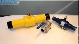 Краны шаровые приварные, видео обзор шаровых кранов под приварку. UKSPAR