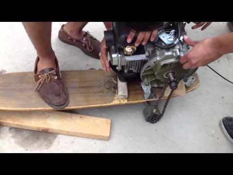 Motorized Skateboard Funnycat Tv