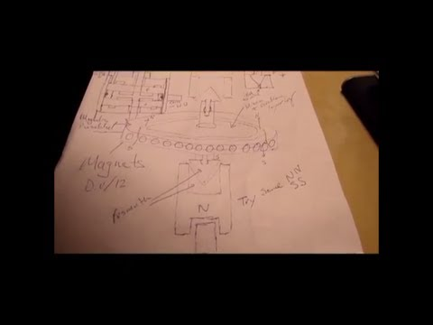 The High Velocity Bearingless Antigravity Motor (ultra frequencies) p1