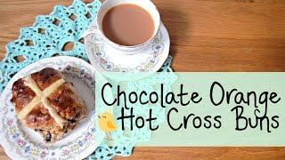 Diy Chocolate Orange Hot Cross Buns ¦ The Corner Of Craft