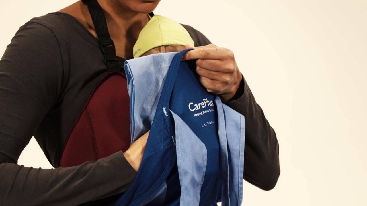 6b88011b4ad CarePlus - Ergonomic wrap for Kangaroo Mother Care (KMC) - YouTube