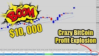 Bitcoin Trading Strategy! Watch Me Catch this Explosive $10k Price Action Trade!