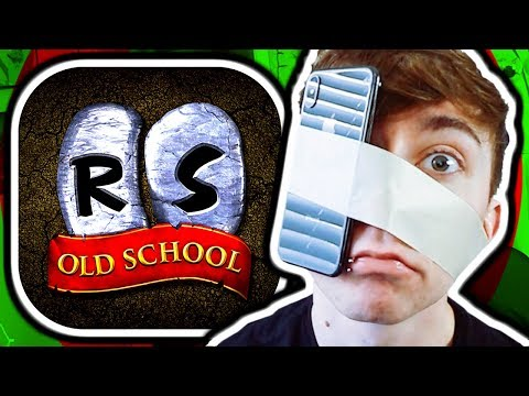 OLD SCHOOL RUNESCAPE MOBILE! (iPhone Gameplay)