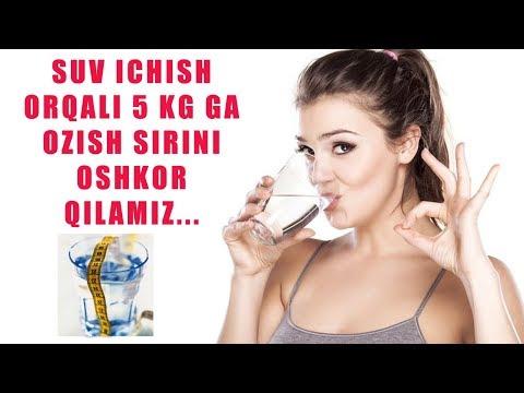 Сув Оркали 5 Кг га Озиш Сирини Ошкор Киламиз...