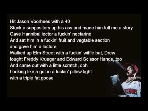 Eminem  - Underground (lyrics)