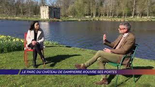 Yvelines   Le parc du château de Dampierre rouvre ses portes