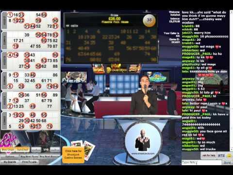 Live Famous Interactive Bingo