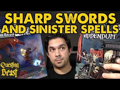 Sharp Swords & Sinister Spells: OSR DnD Book Review