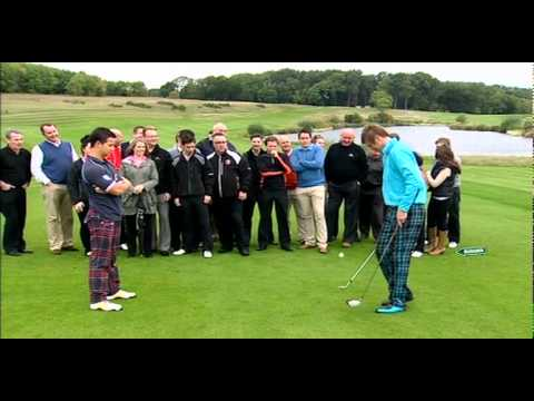 Kevin Carpenter's KC Golf Show appears on Soccer AM's Skill Skool