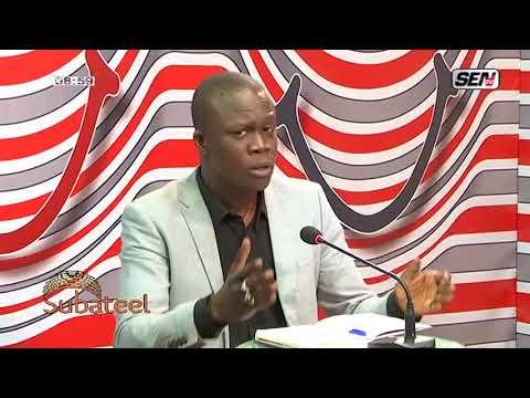 Entre rapport et ingérence au Sénégal :   Subateel parle
