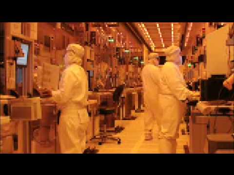 Fab 32 - Intel's first high-volume 45nm chip factory