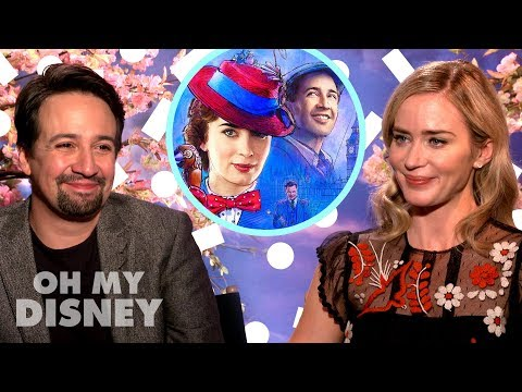 Emily Blunt and Lin-Manuel Miranda on Working Together in Mary Poppins Returns | Oh My Disney Mp3