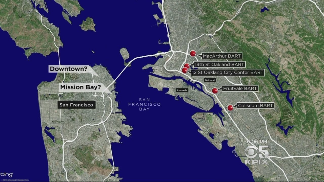 BART Considers Constructing A Second Transbay Tube