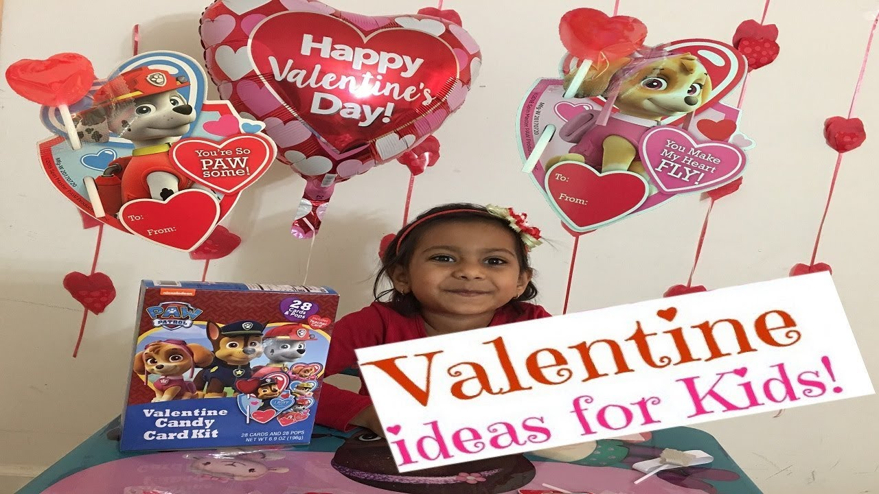 Valentine S Day Gift Ideas For Kids Valentine Candy Card Kit Gift