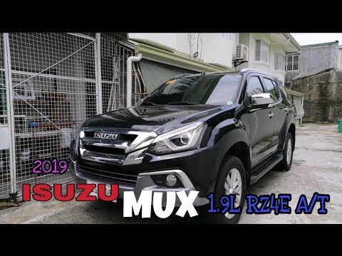 2019 Isuzu MUX 1 9cc RZ4E LS A AT 6 Speed with extra Feature - Review
