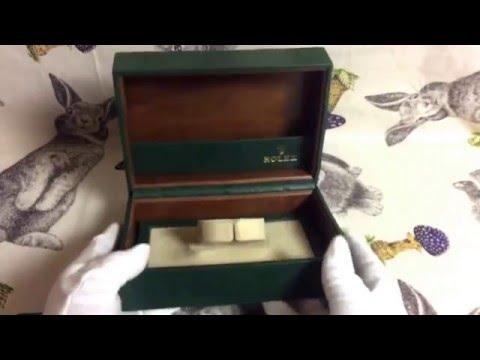 ROLEX WATCH BOX, ROLEX S.A.GENEVE SUISSE 53.00.08 VINTAGE