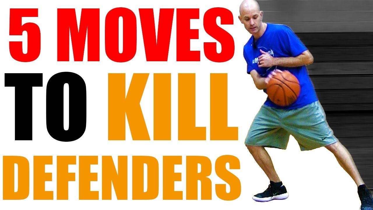 55a64a952ed5 5 DEADLY Basketball Moves KILL Defenders! SURPRISING Crossovers Break Ankles !