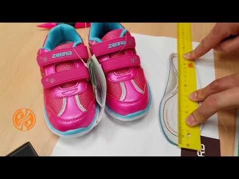 Длина стопы ребенка  и размер обуви