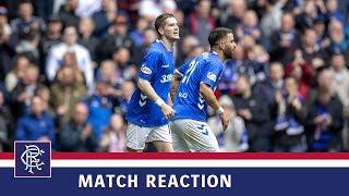 REACTION | Ryan Kent | Rangers 4-0 Dundee