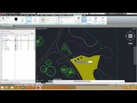 Creating and Preparing Autocad layers and layouts for Photoshop import
