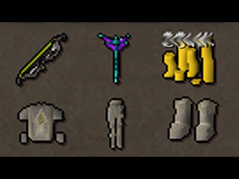 I sold my bank for a tbow...This is what I got in 4 hours