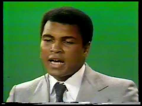 Boxing – 1978 – Frank Gifford Interviews Muhammad Ali Regarding
