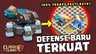 DEFENSE BARU TH 13 CoC - 100% ANTI TEMBUS!!