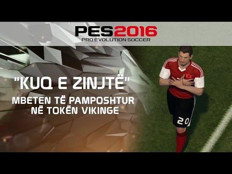 PES 2016: UEFA Euro 2016 Qualifying - Albania Vs. Serbia (The Movie) #autochthonous