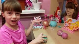 Шар LOL 2 серия оригинал и подделка! Золотой шар сюрприз ЛОЛ / Surprizamals/ LOL сестрички  малышки.
