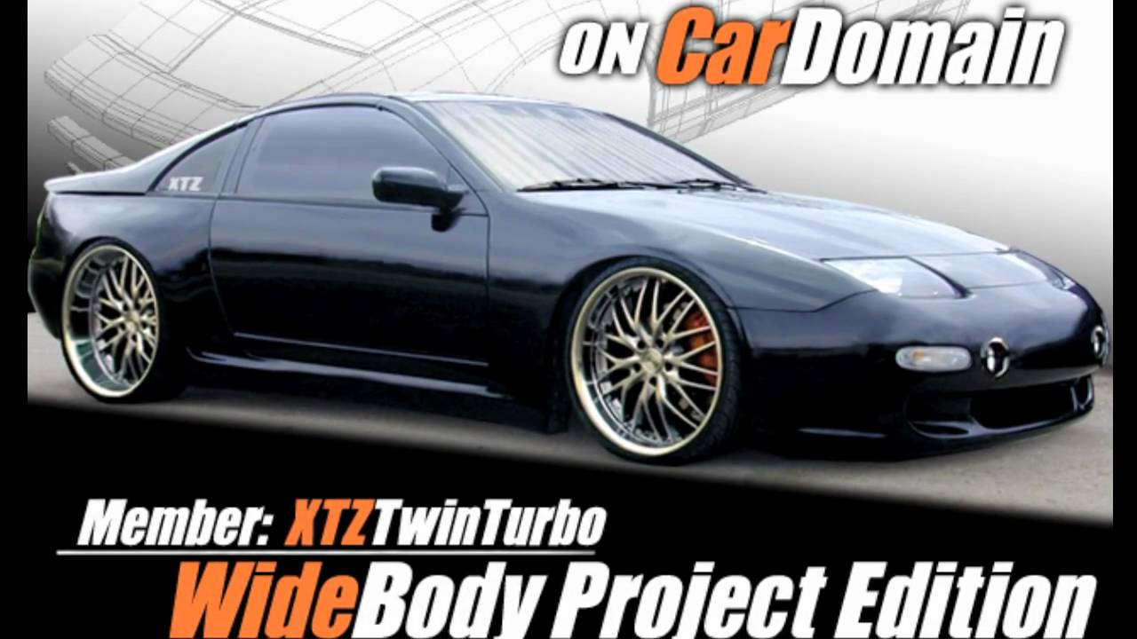 300zx Widebody Install Xtztwinturbo Youtube
