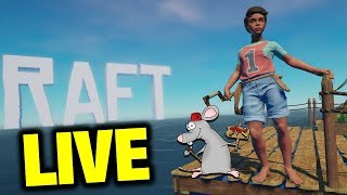 THE RAFT - NEW SURVIVAL GAME IS HERE! LIVESTREAM Part One