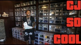 CJ SO COOL $500,000 SNEAKER COLLECTION!! (Part 1)