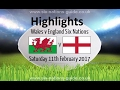 Wales vs England - Highlights  Rugby 6 Nations 2017