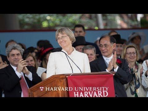 Harvard President Drew Gilpin Faust Address   Harvard Commencement 2018