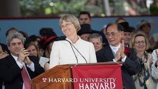Harvard President Drew Gilpin Faust Address | Harvard Commencement 2018 thumbnail