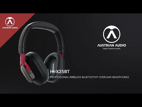 Austrian Audio Hi-X25BT Professional Wireless Bluetooth® Over-Ear Headphones