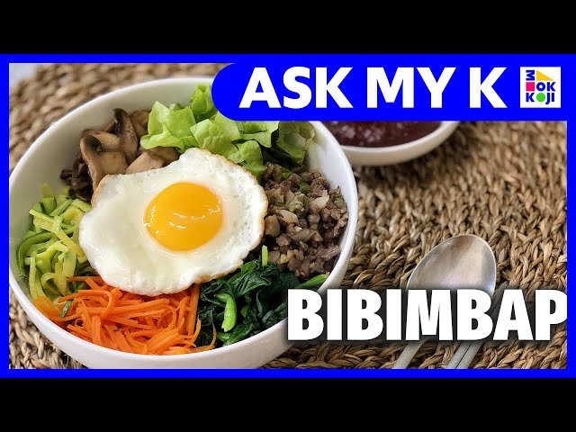 Ask My K : hhwang - кто молодец?! - How to make BIBIMBAP from available ingredients at home