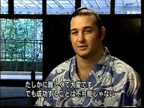 Kotoōshū Katsunori CNNs Asia Now Program Bulgarian Sumo Wrestler Kotosh Katsunori