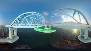 Соединяем берега: RT представляет визуализацию Крымского моста через Керченский пролив (ВИДЕО 360)(Представьте, как будет выглядеть Крымский мост через Керченский пролив, с помощью панорамного видео RT...., 2016-09-07T06:56:58.000Z)