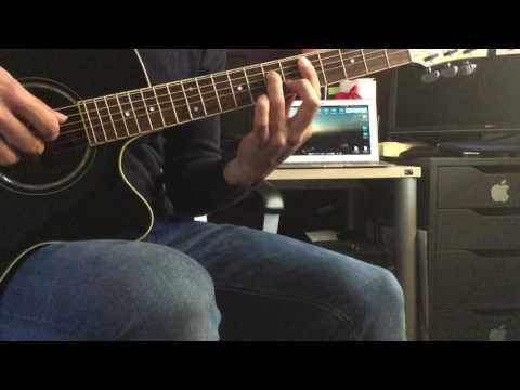 White Christmas chord melody