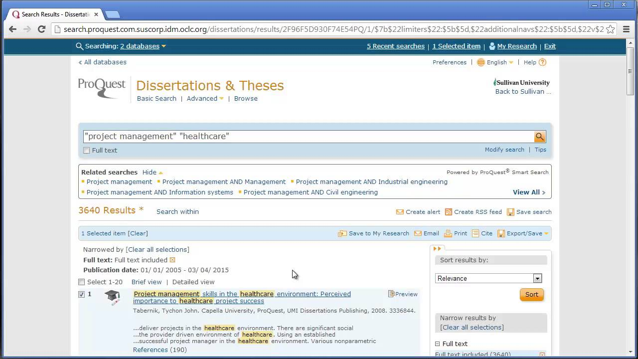how to search proquest for dissertations theses  how to search proquest for dissertations theses